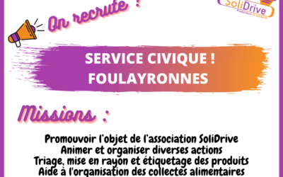 On recrute !!