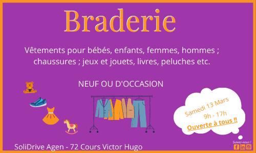 Braderie !!