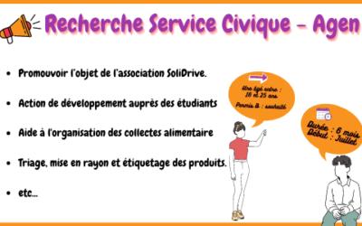 Recherche Service Civique Agen