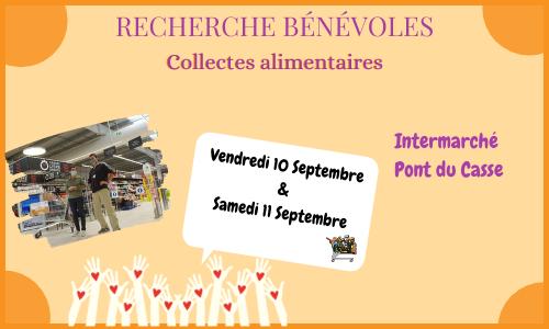 Collecte Intermarché Pont du Casse